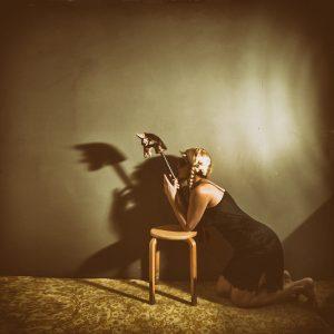 Ein fliehendes Pferd Katja Gehrung ART Photography Poetry'Notes