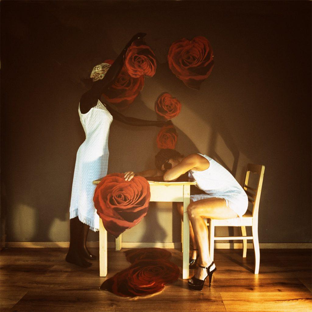 Katja Gehrung Serie Love Notes ART Photography Hildegard Knef