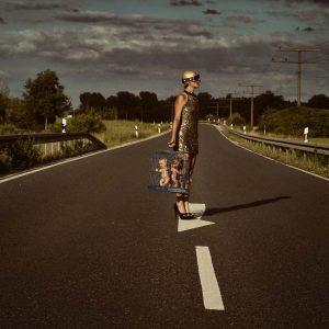 "Katja Gehrung Art Photography Serie ""Hit the raod"""