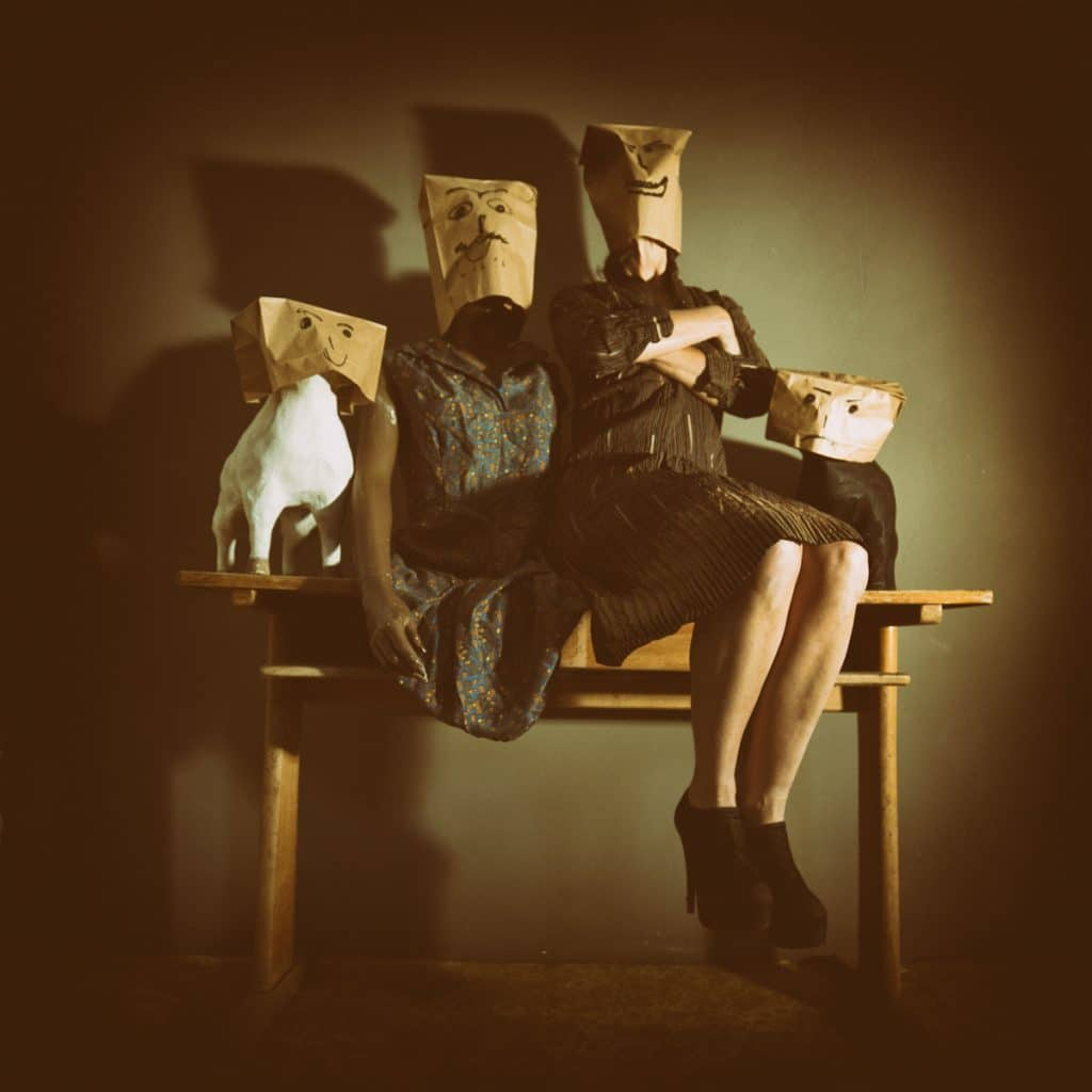 The mask series family portrait Katja Gehrung ART photography